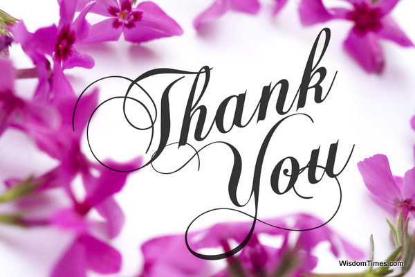 Thank you Thank You – A Kind Gesture of Appreciation