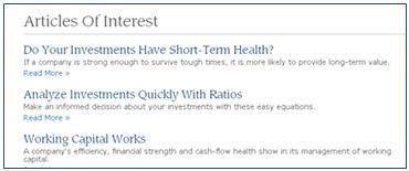 Using Investopedia